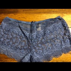 NWT Very sexy lace shortie